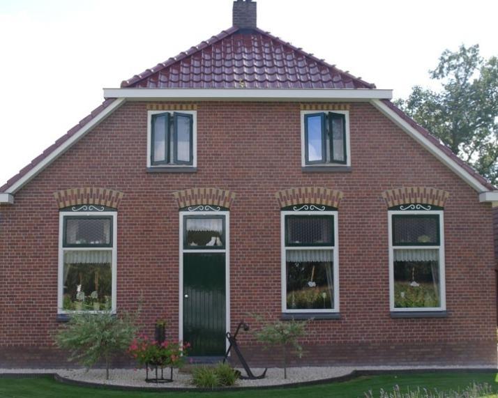 Staphorst boerderij gevelreiniging