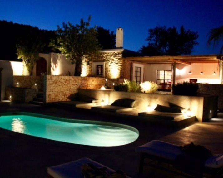 Tuin Ibiza by night